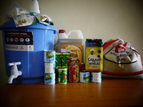 Food aid for a small family