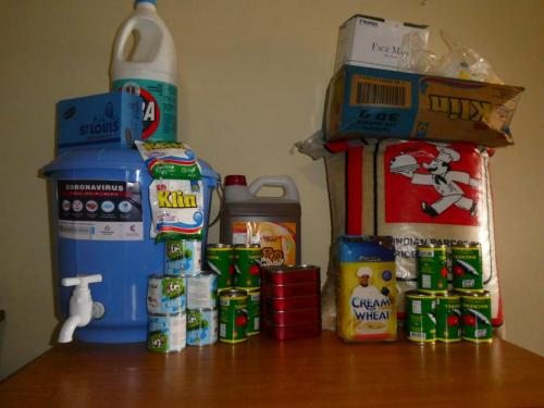 Food aid for a large family